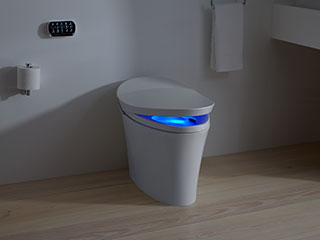 Veil Intelligent Toilets. Never Too Next.